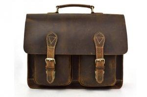 mens leather messenger bag sale