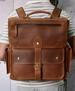 ladies leather travel backpack style handbag