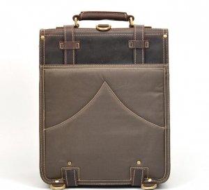 mens leather rucksack backpack