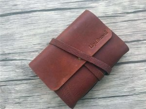 leather small notebook