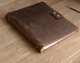 rustic leather journal portfolio