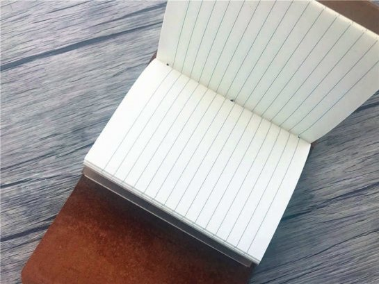 small leather journal inserts