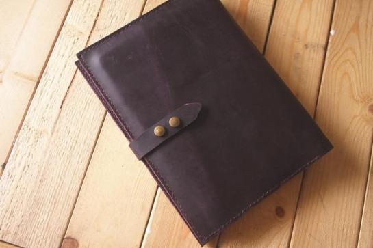 leather organizer planner