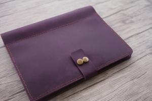 custom leather binder organizer