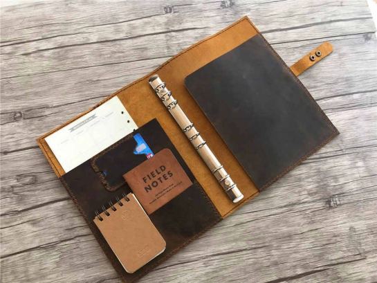 leather binder cover