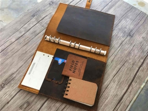 a5 leather binder