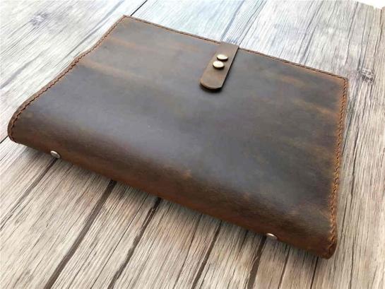 leather bound binder