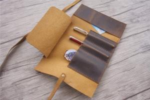 leather custom watch case