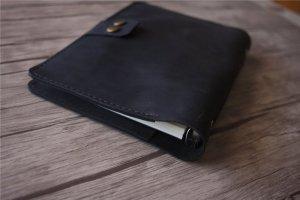 esv single column journaling bible genuine leather black