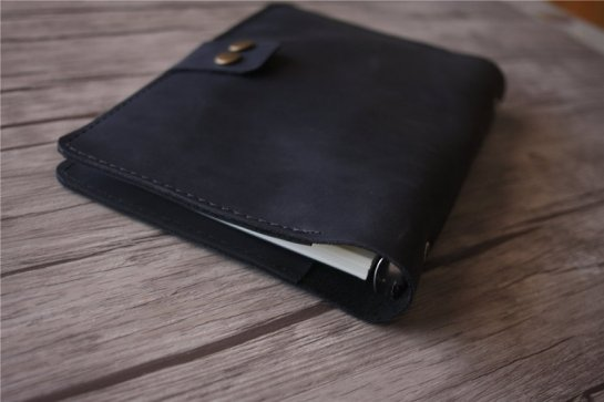 esv single column journaling bible genuine leather black