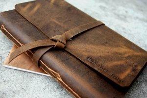 handmade leather journals uk