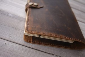 how to refill a leather journal