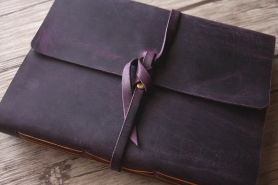leather bound journal for men
