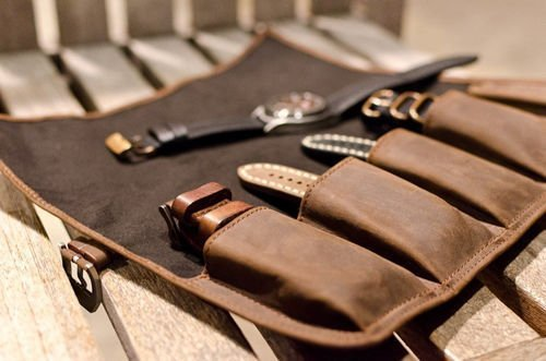 mens watch holder case