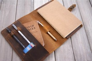 refillable leather journal a5