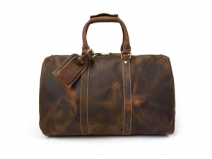 weekend bags leather