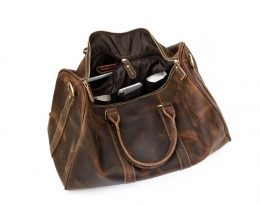 leather weekend bags women