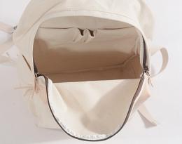 black canvas backpack women's