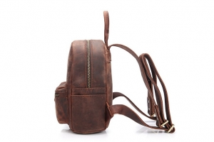 women's small leather backpack purse