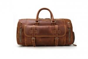 leather travel bag mens