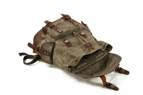 canvas backpack mens