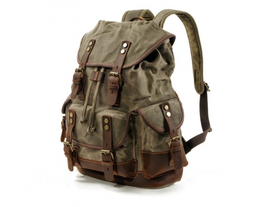 canvas backpack women's