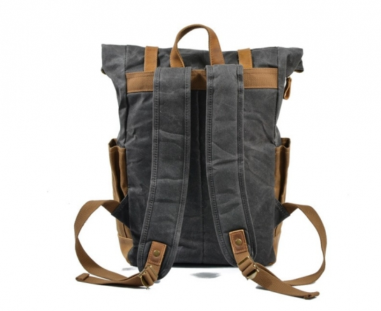 canvas slouch backpack