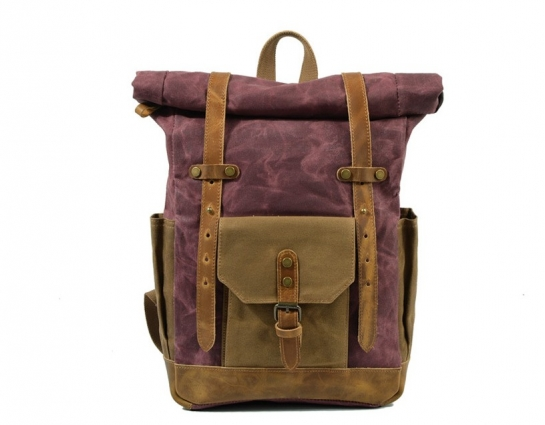 canvas backpack purse