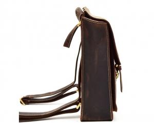 women's mini leather backpack