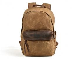canvas hiking backpack