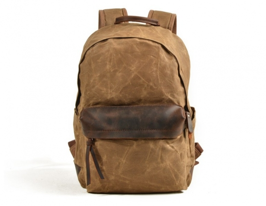 canvas hiking backpack