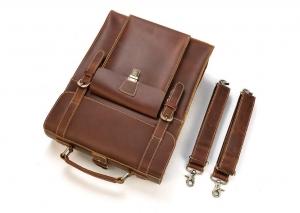 leather sling backpack