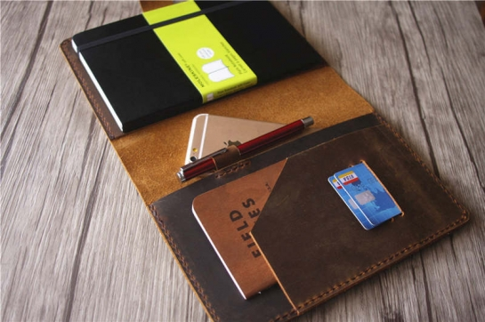 moleskine soft cover notebook