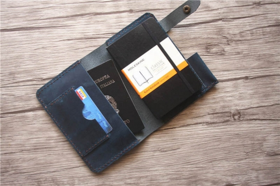 moleskine journal covers leather