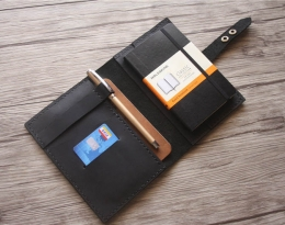 custom leather moleskine cover