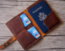 designer passport cover