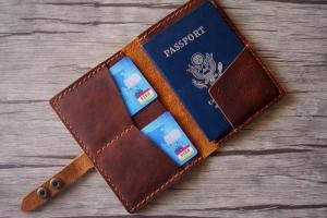 designer passport cover