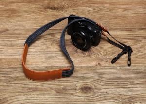 monogrammed camera strap