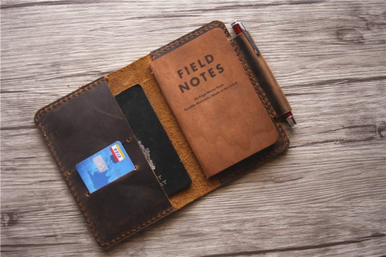 leather field notes cover
