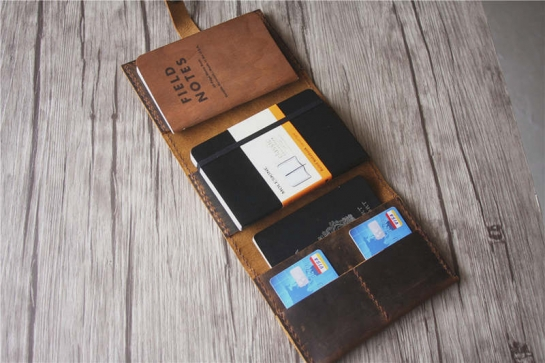 field notes cover canvas