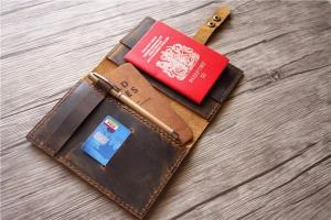 travelling passport holder