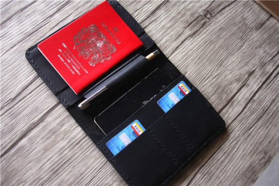 customized passport holder