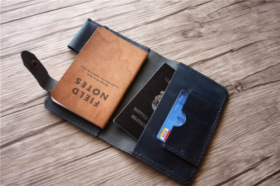 field notes leather