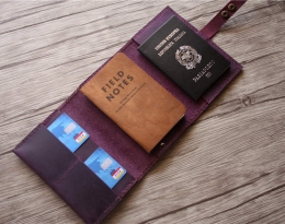 mens passport holder