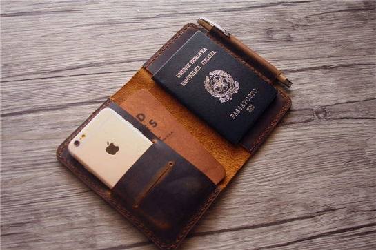 custom passport holder