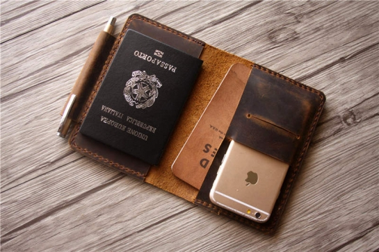cool passport holder