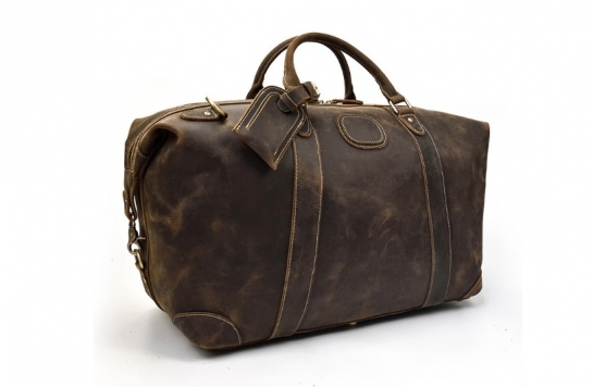womens travel leather overnight bag