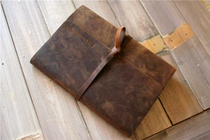 vintage leather personalized gifts