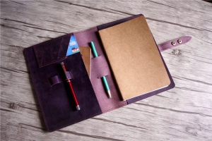 leather notebook journal cover case