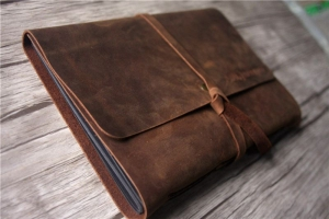 business notebook leather